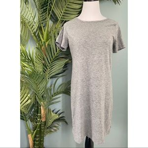 5 for $25/ Old Navy grey t shirt dress